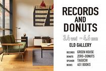ELD レコード展「RECORDS & DONUTS」